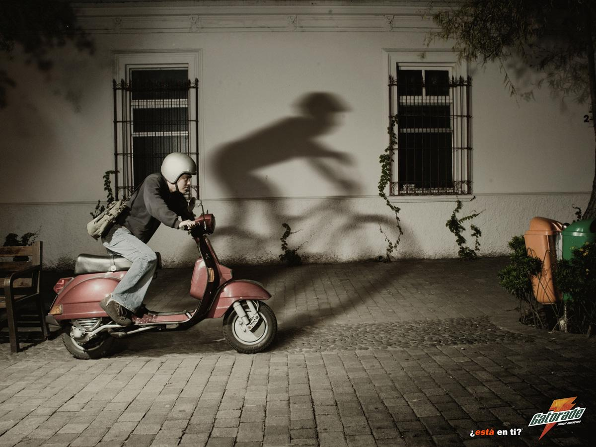 Gatorade Print Ad -  Bike