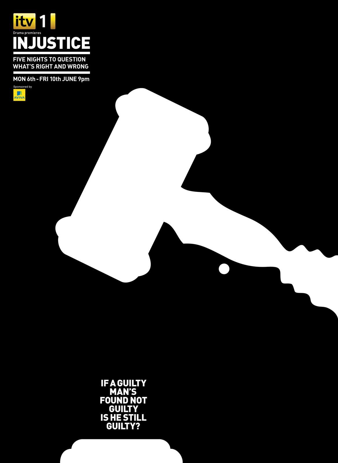 Injuctice Print Ad -  Gavel