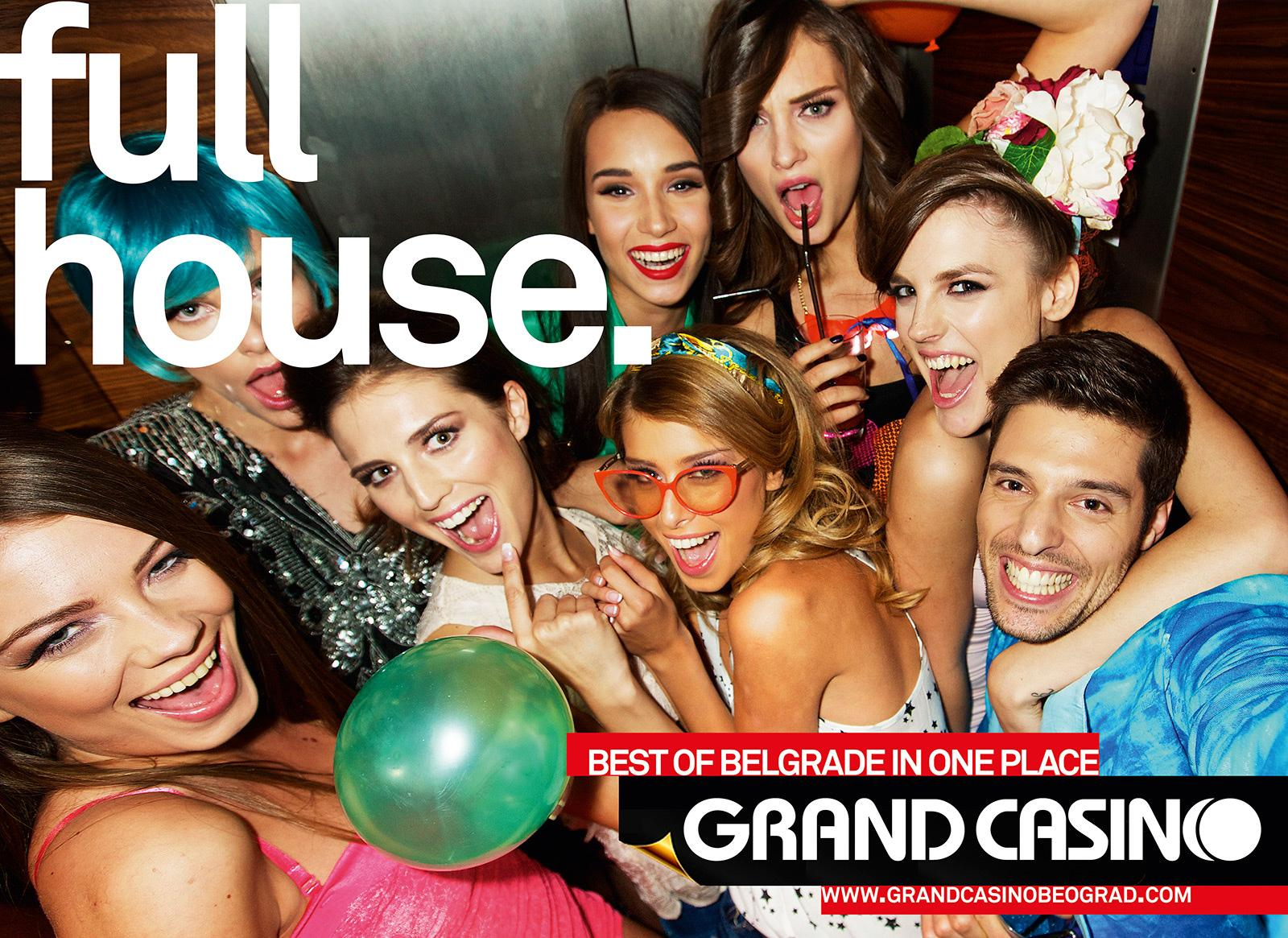 Grand Casino Beograd Print Ad -  Full house