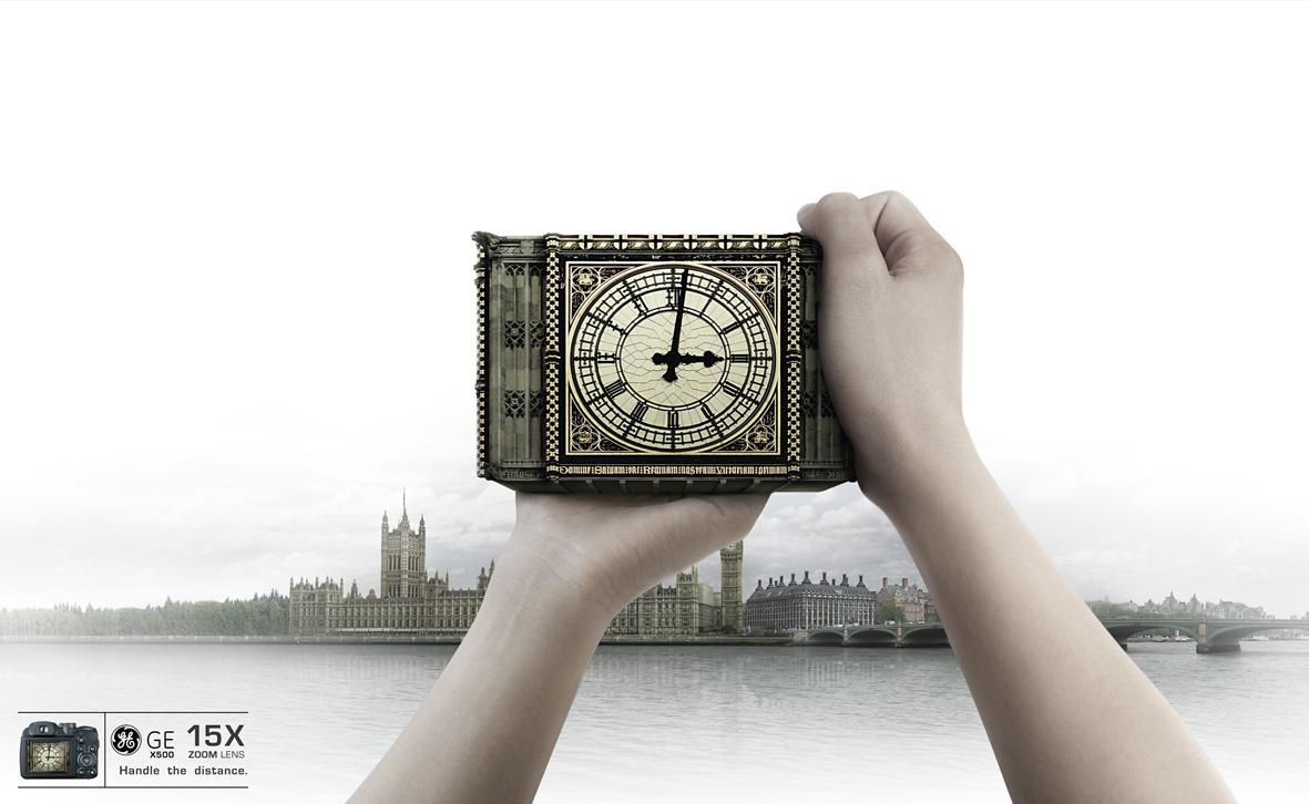 GE Print Ad -  Clock