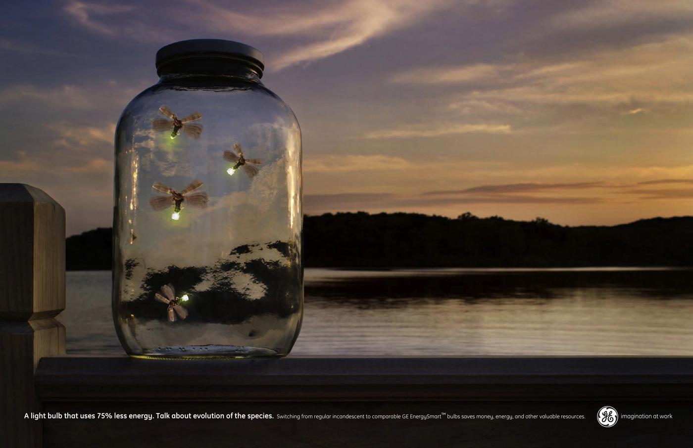 GE Print Ad -  Fireflies