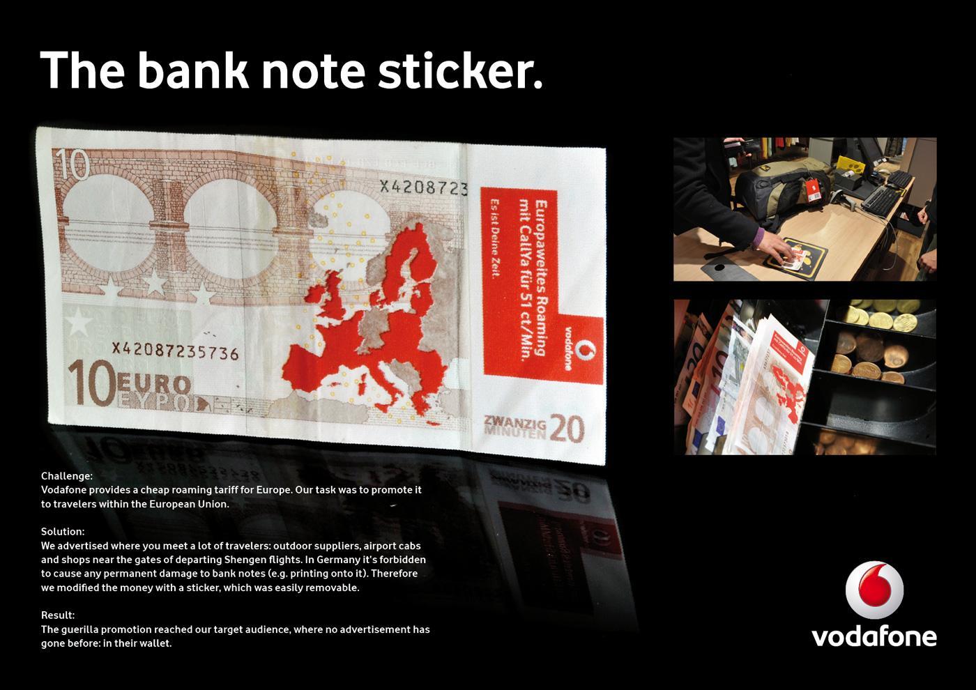 Vodafone Direct Ad -  Banknote