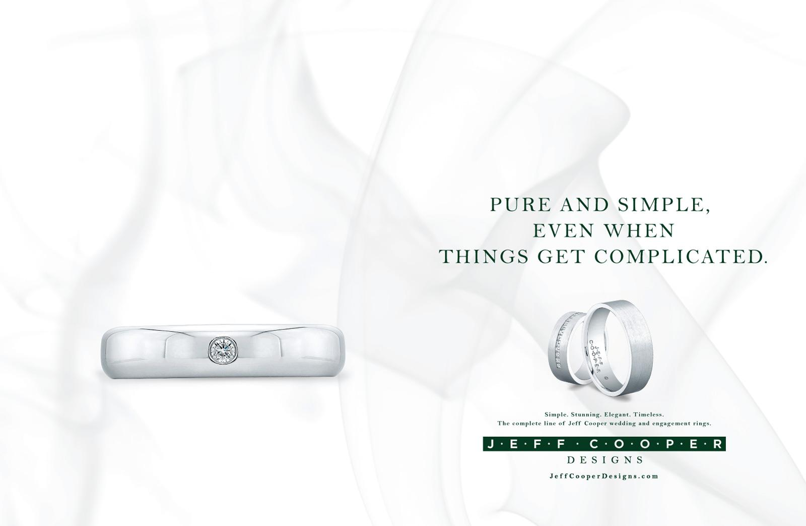 Jeff Cooper Designs Print Ad -  Complicated