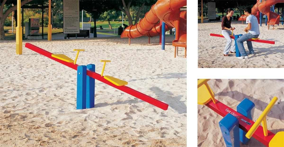 Close-Up Ambient Ad -  Seesaw