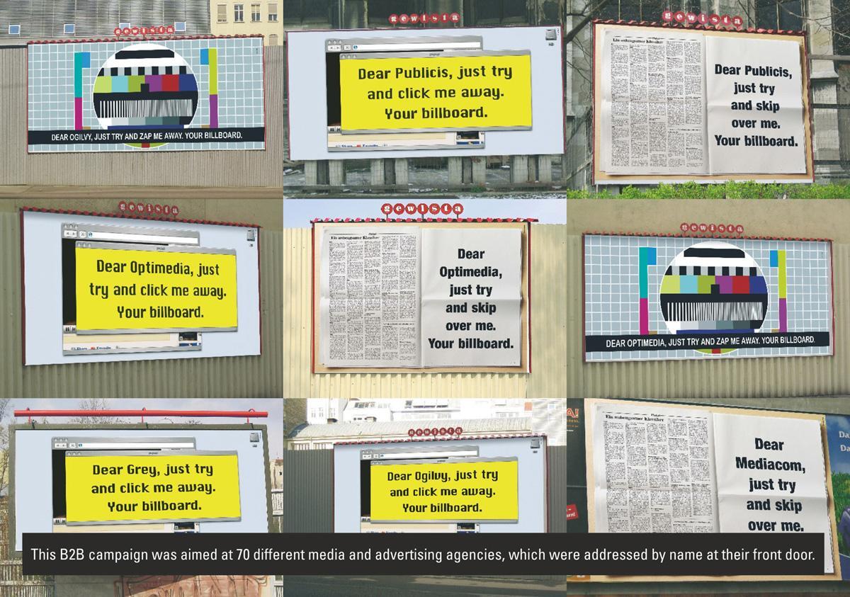 Gewista Print Ad -  Billboards