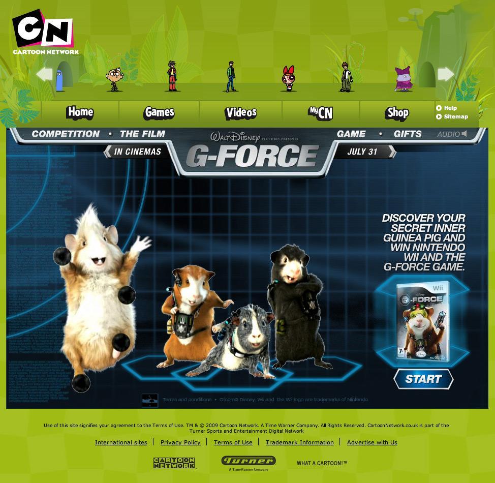 Disney Digital Ad -  Guinea Pig