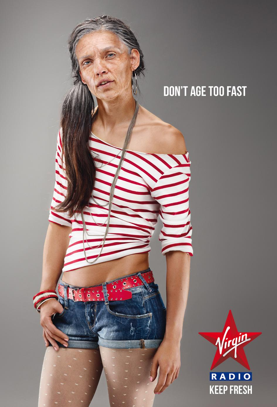 Virgin Print Ad -  Keep fresh, Girl