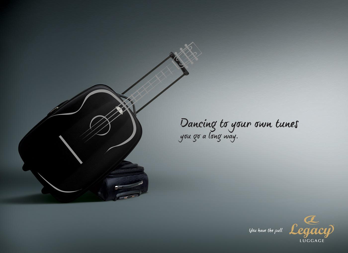 Legacy Print Ad -  Guitar