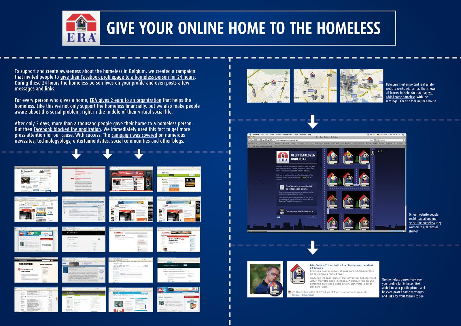 ERA Digital Ad -  Give your online home to the homeless