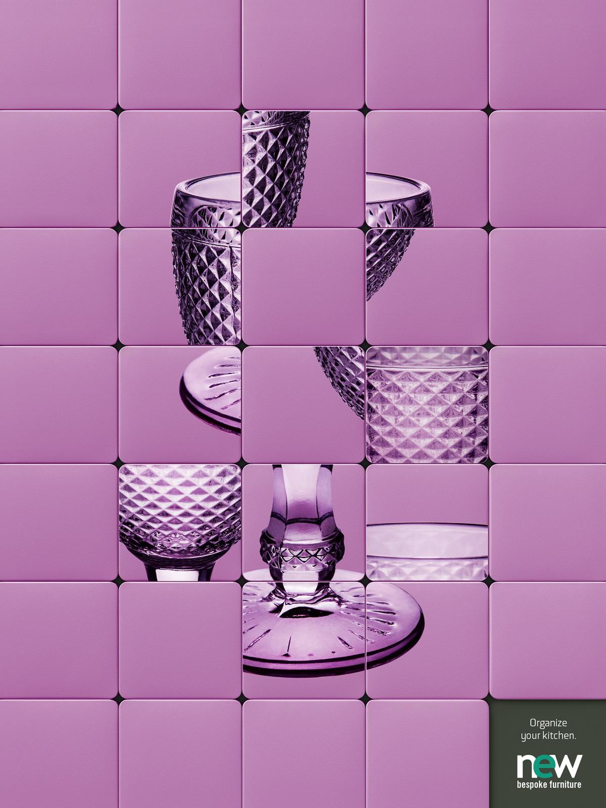 New Bespoke Furniture Print Ad -  Glass