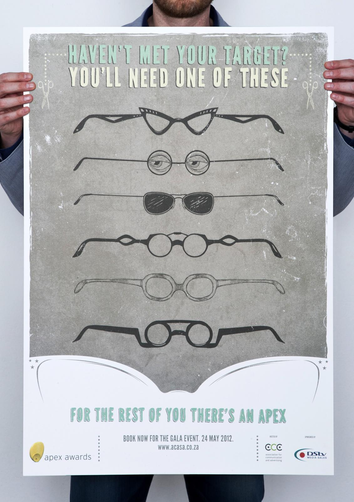 Apex Awards Outdoor Ad -  Glasses