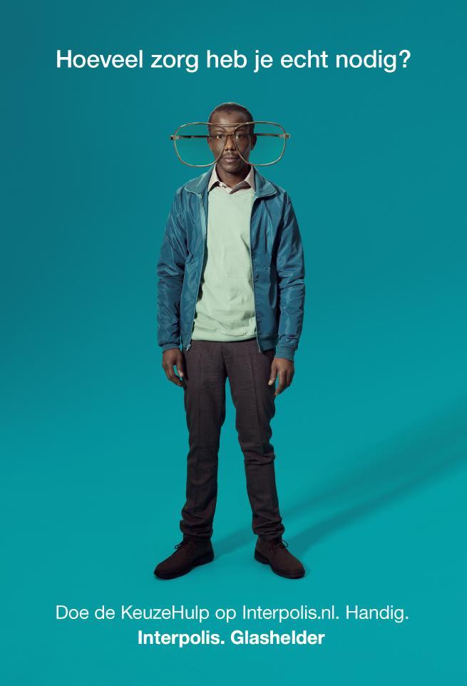 Interpolis Print Ad -  Glasses