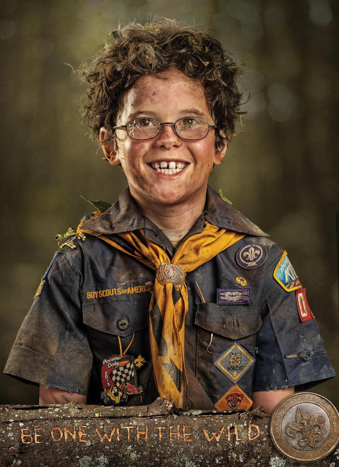 Boy Scouts Print Ad -  Glasses