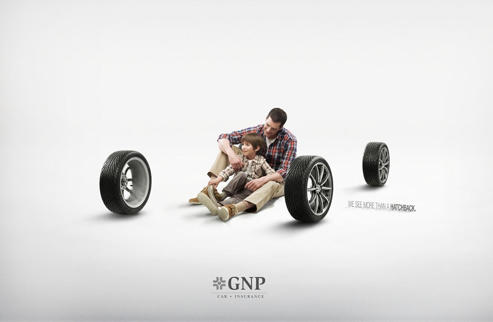 GNP Print Ad -  Dad