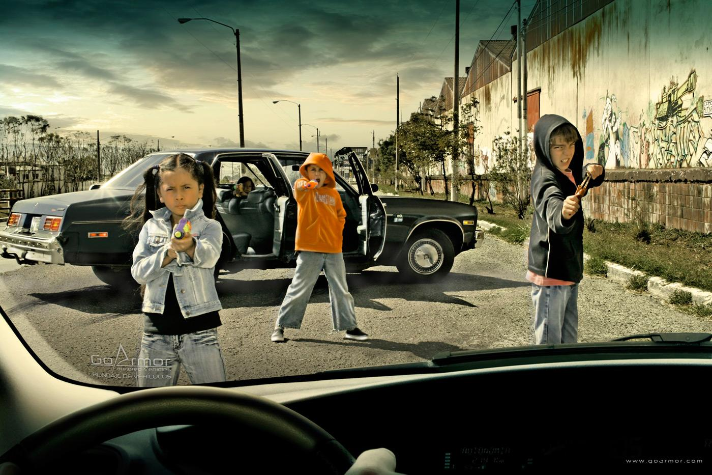 Go Armor Print Ad -  Kids