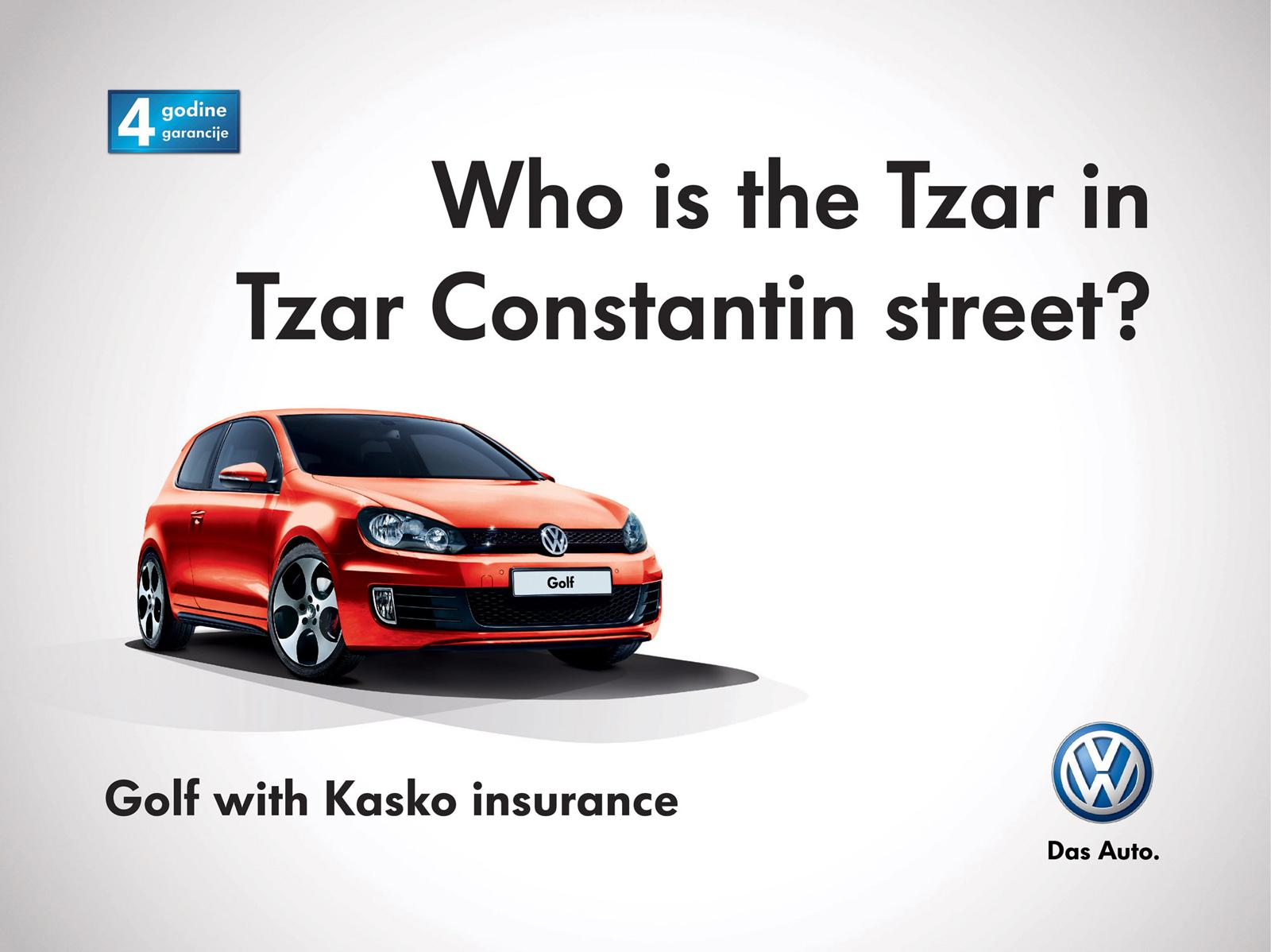 Volkswagen Outdoor Ad -  Who is who?, 1
