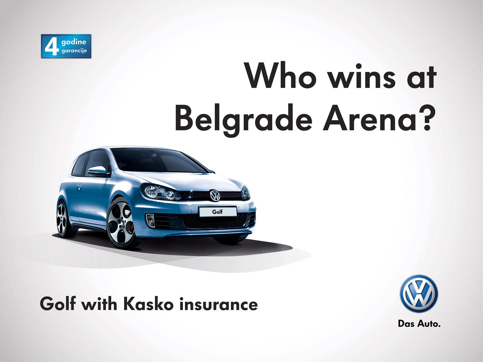 Volkswagen Outdoor Ad -  Who is who?, 2