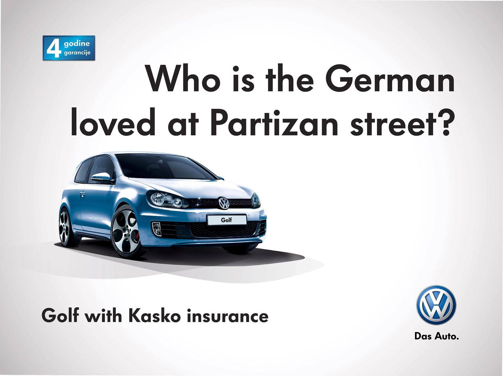 Volkswagen Outdoor Ad -  Who is who?, 4