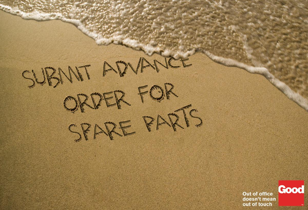 Good Access Print Ad -  Beach