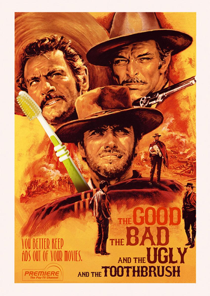 The Good, The Bad and The Ugly, and The Toothbrush