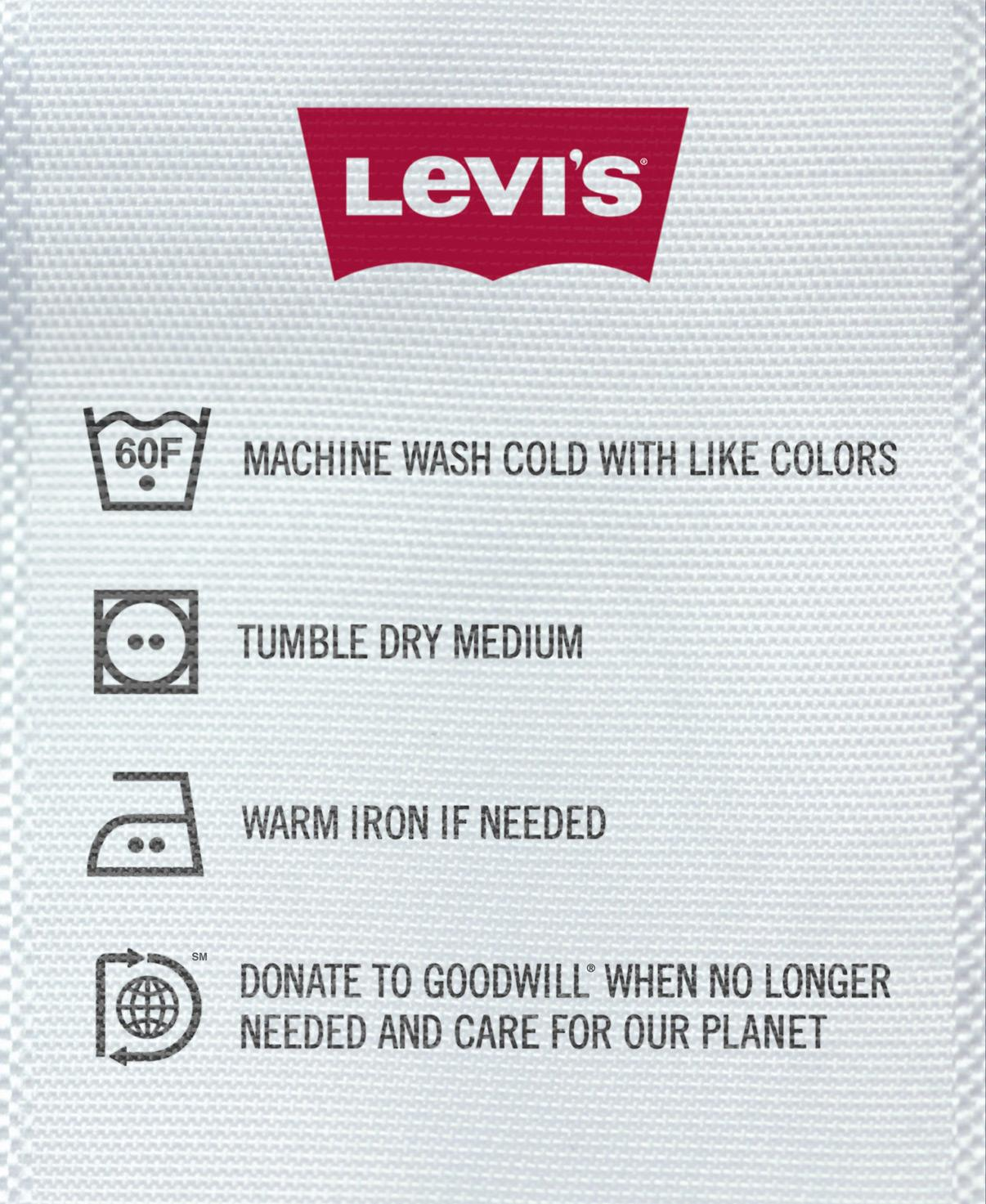 Levi's Print Ad -  Care Tag For Our Planet