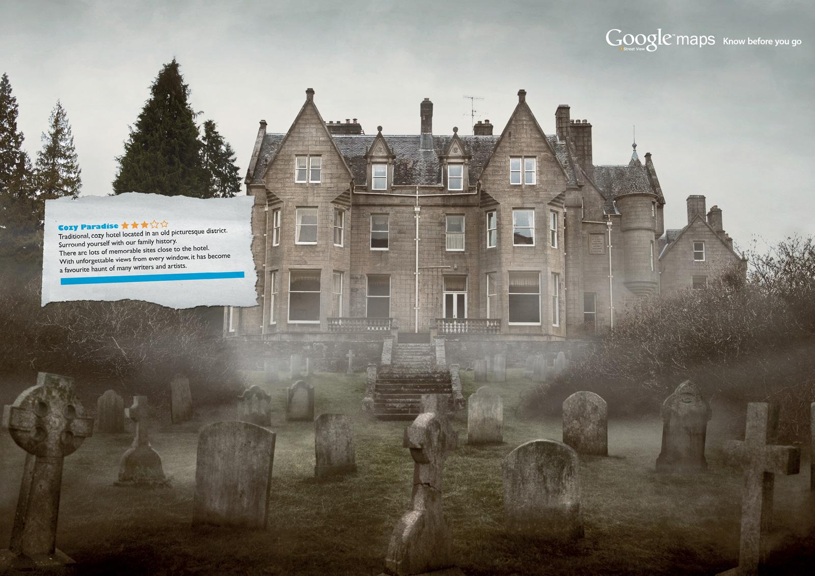 Google Print Ad -  Graveyard