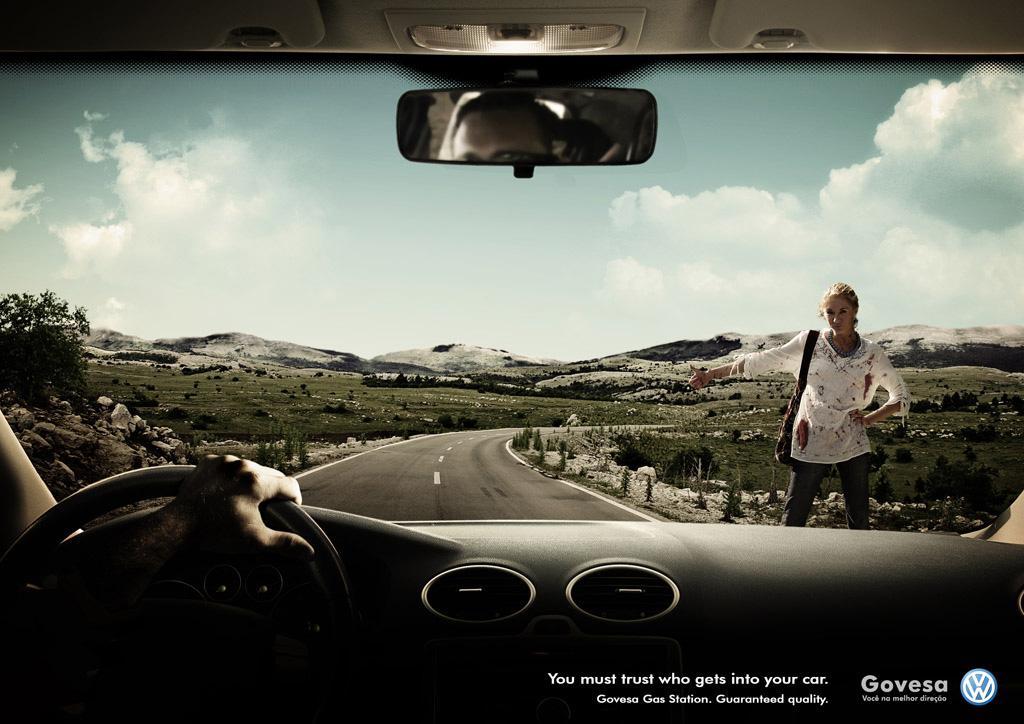 Govesa Print Ad -  Blood