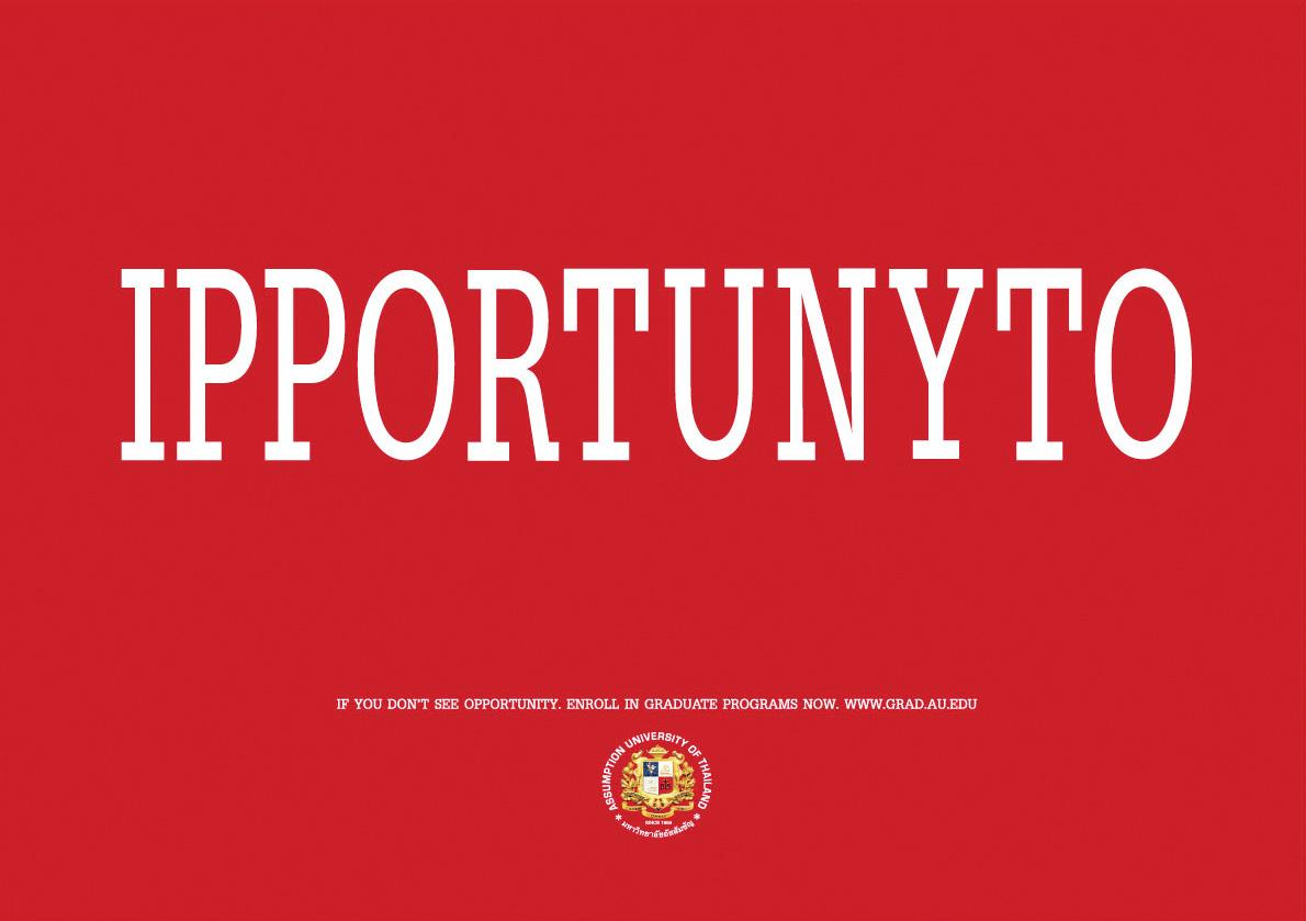 Assumption University Print Ad -  Opportunity