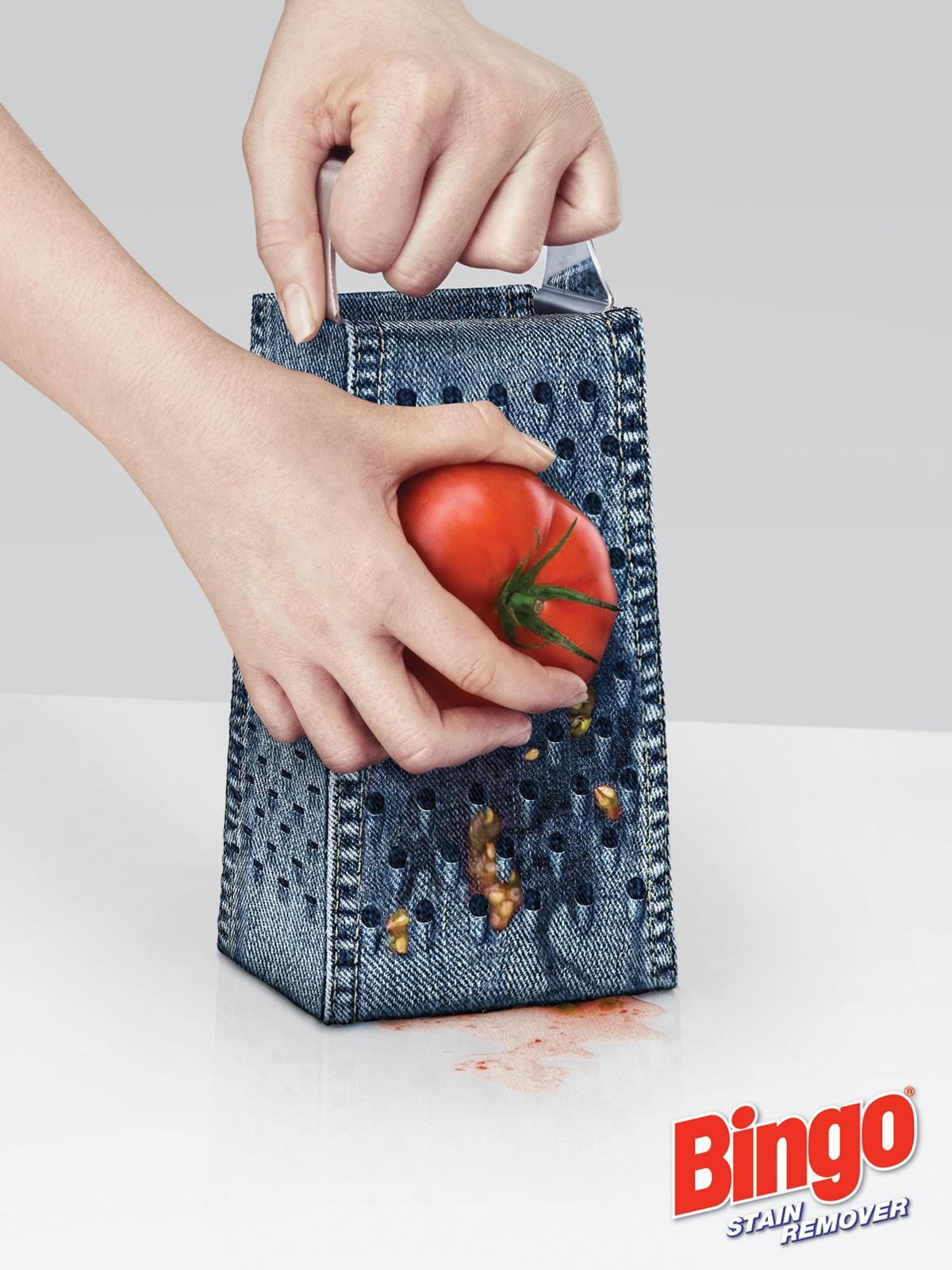 Bingo Print Ad -  Grater