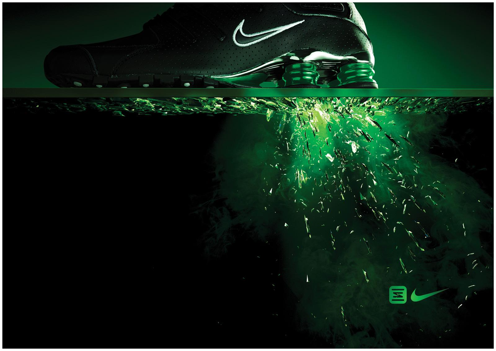 Nike Outdoor Ad -  Green