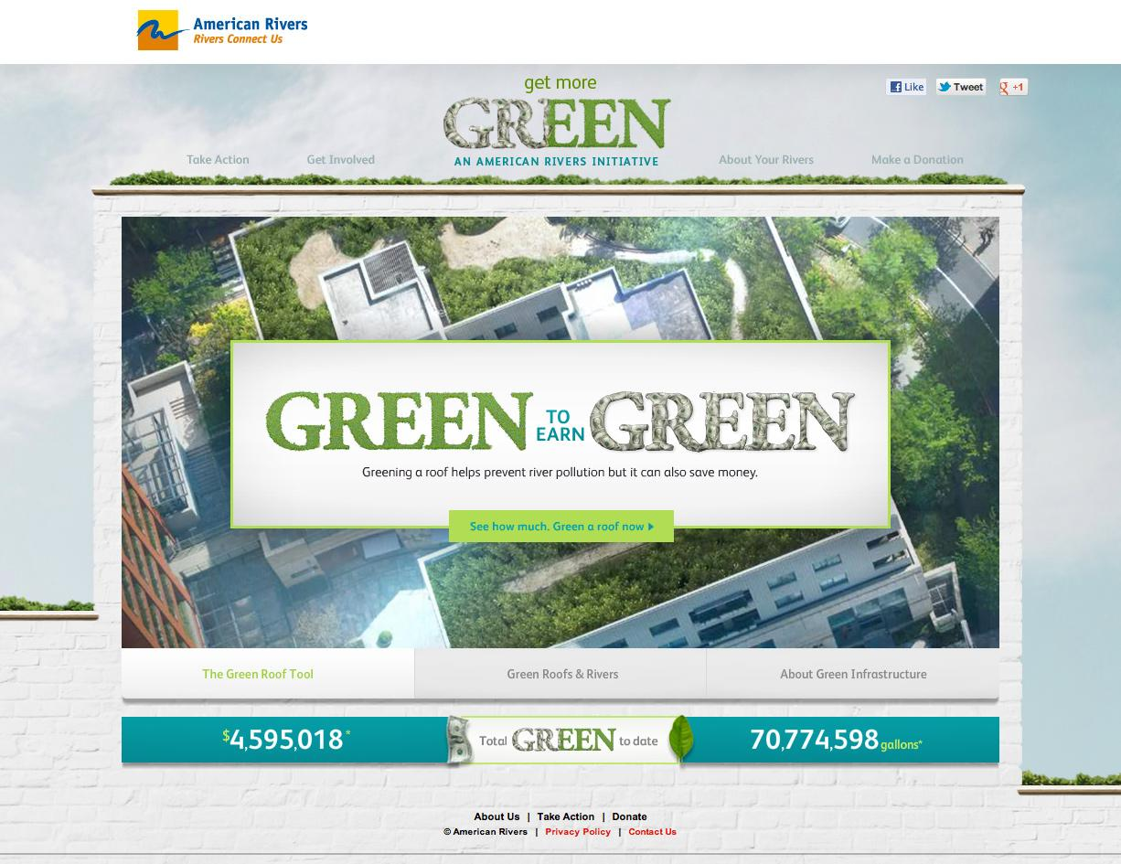 American Rivers Digital Ad -  Get more green