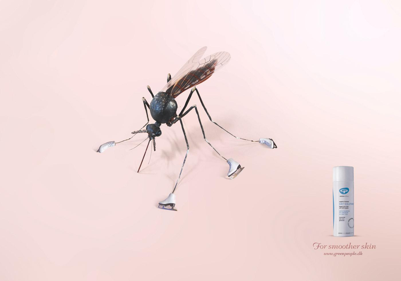Greenpeople Print Ad -  Mosquito