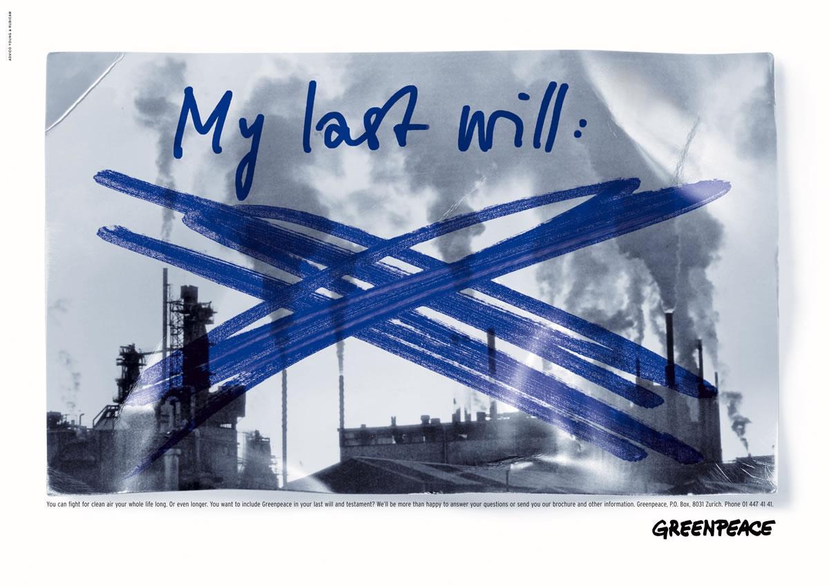 Last will, 1