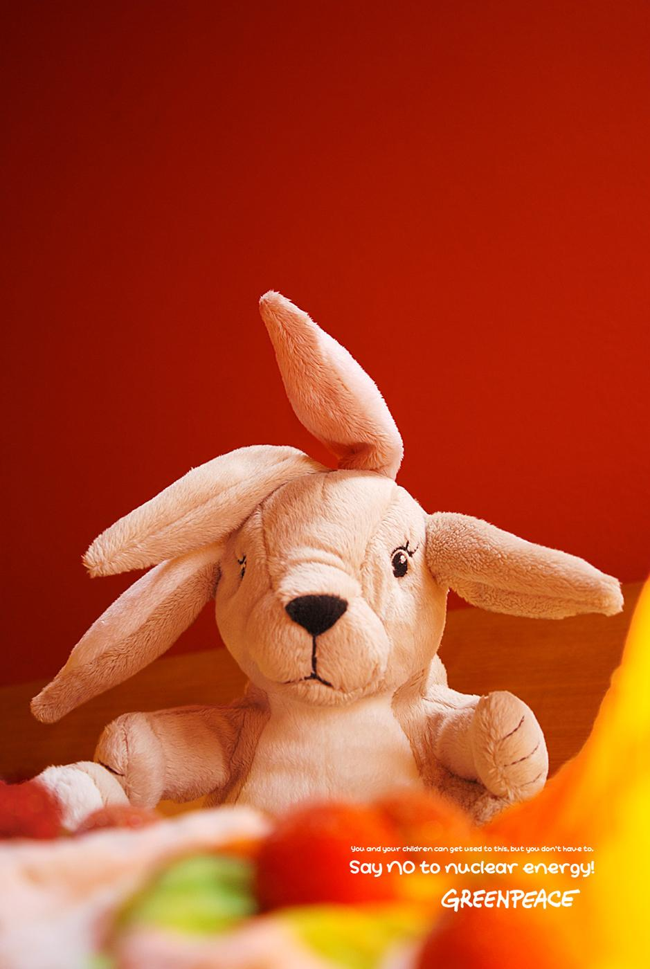 Greenpeace Print Ad -  Bunny