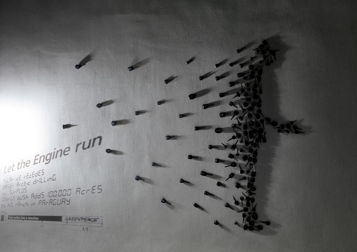 Greenpeace Print Ad -  Keys