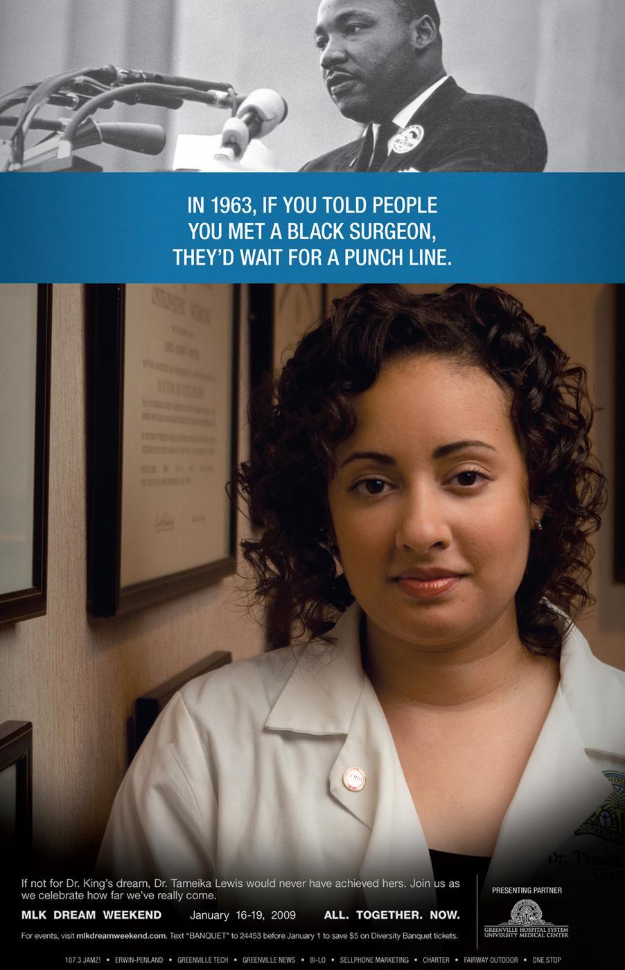 MLK Dream Weekend Print Ad -  Surgeon