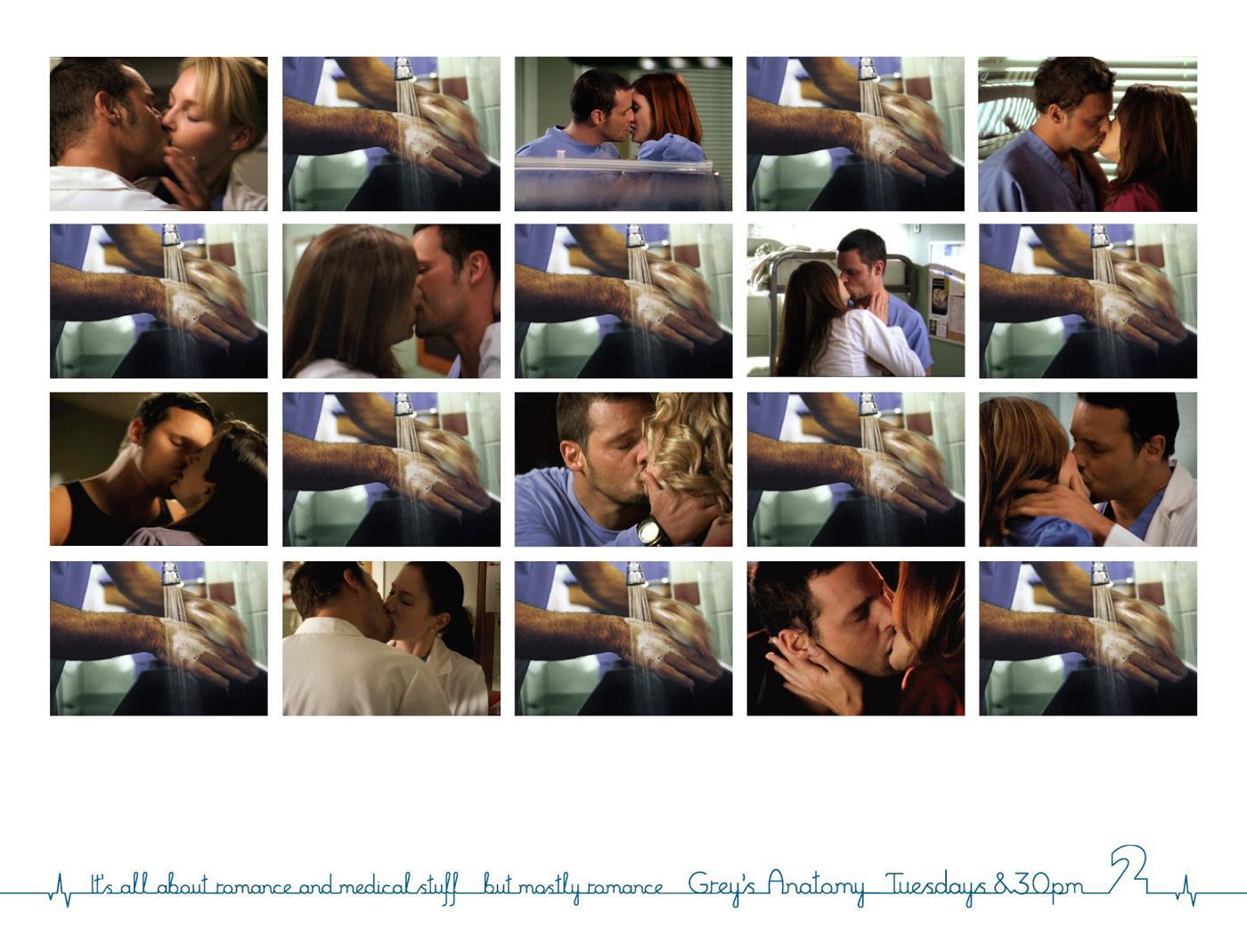 TVNZ Print Ad -  Kisses