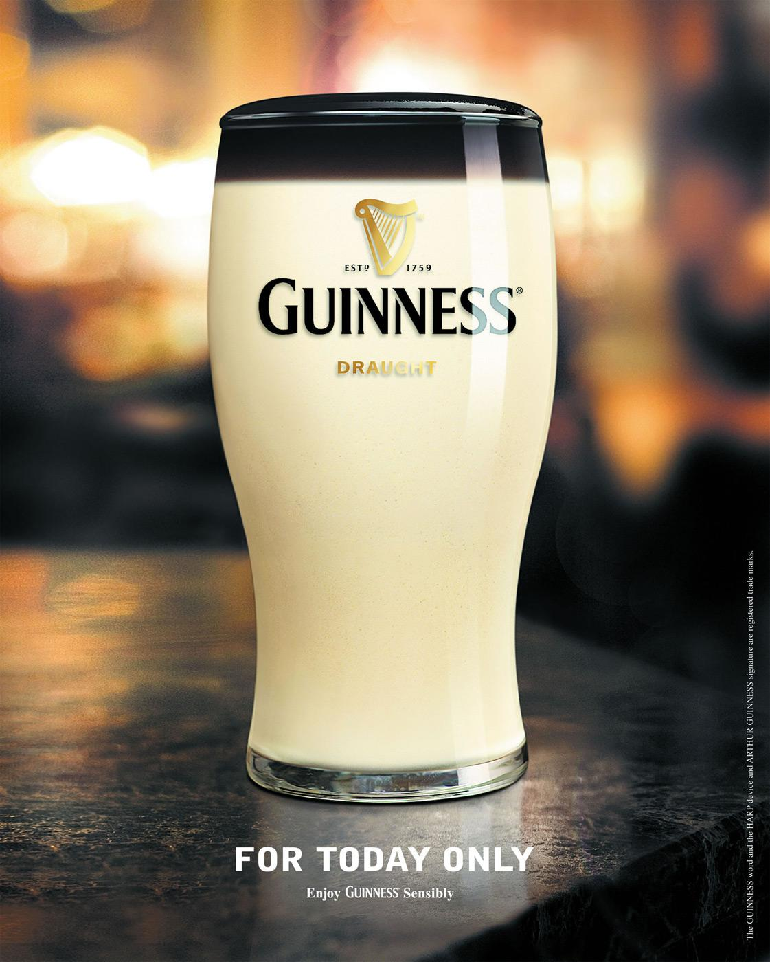 Guinness Print Ad -  April Fool
