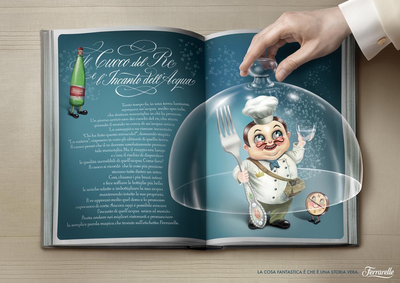 Ferrarelle Print Ad -  Taste