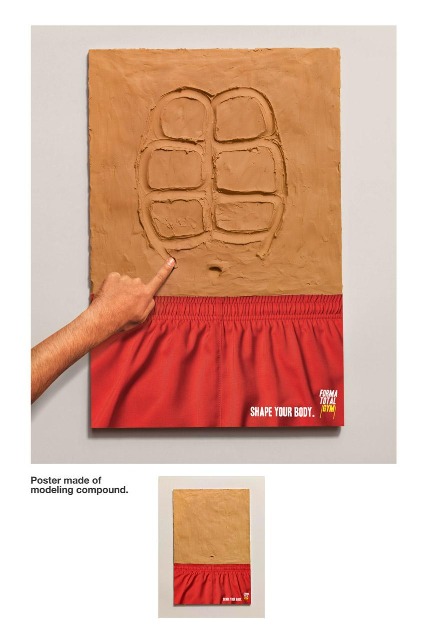 Forma Total Gym Ambient Ad -  Modeling compound poster, Shorts