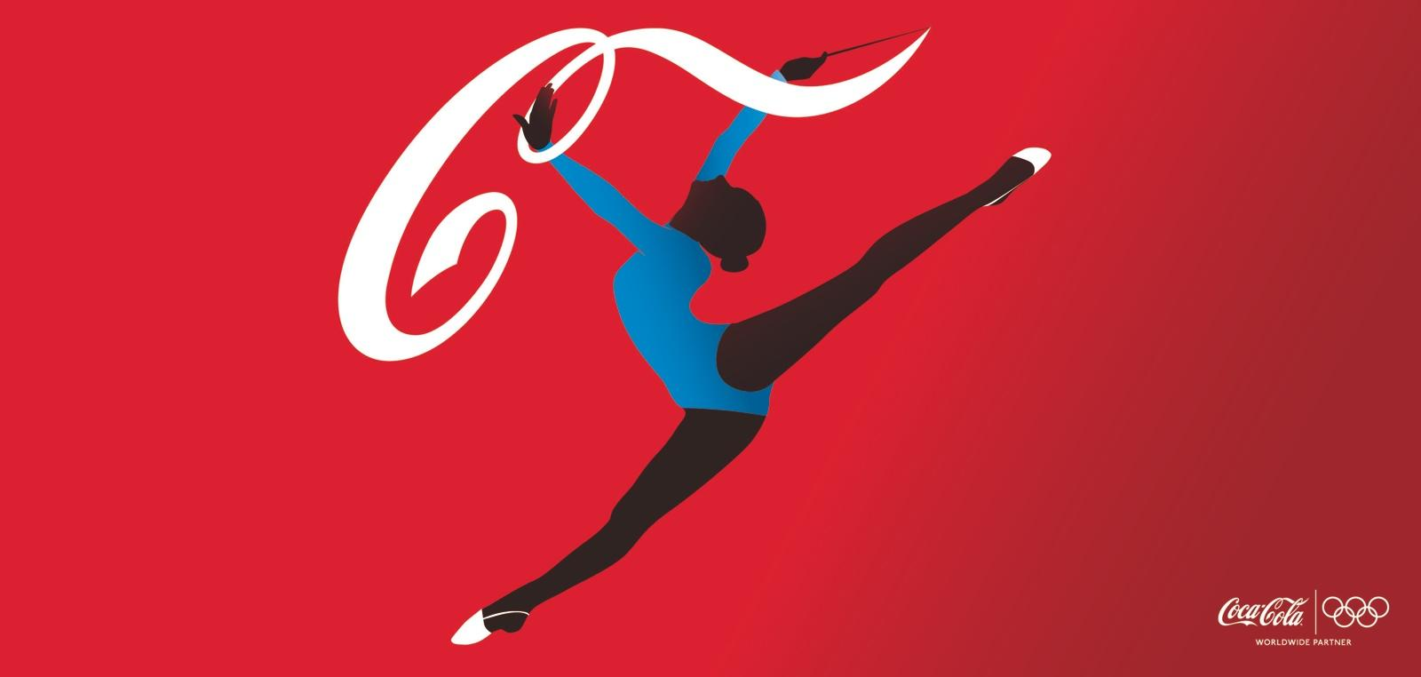 Coca-Cola Outdoor Ad -  Athletes, Gymnast