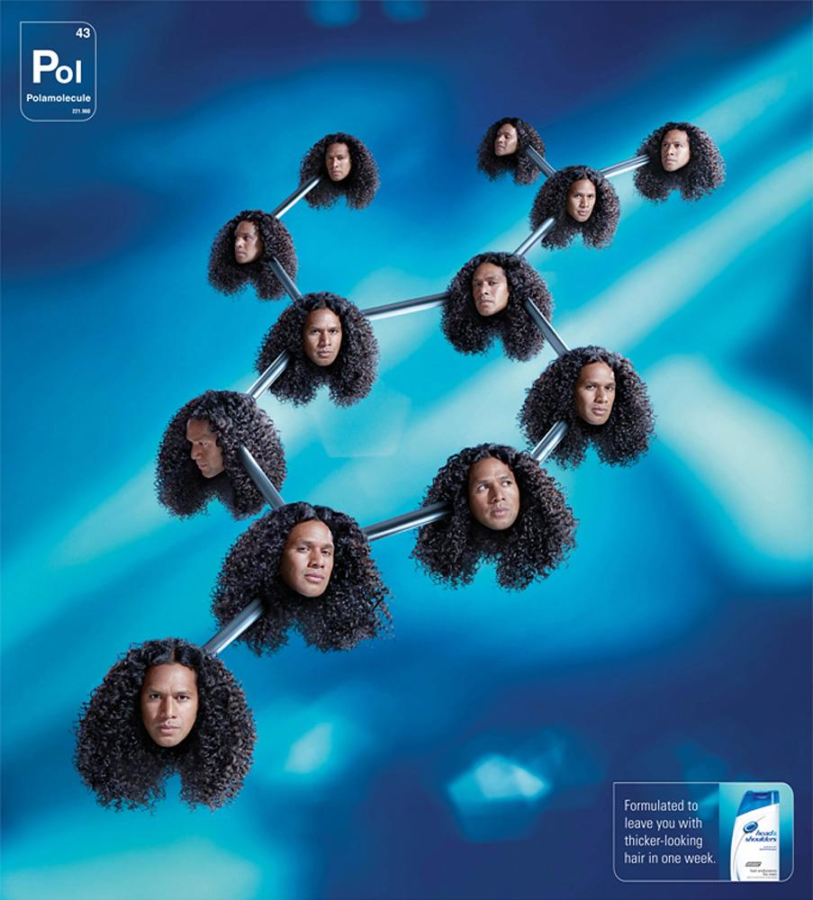 Head & Shoulders Print Ad -  Polamolecule