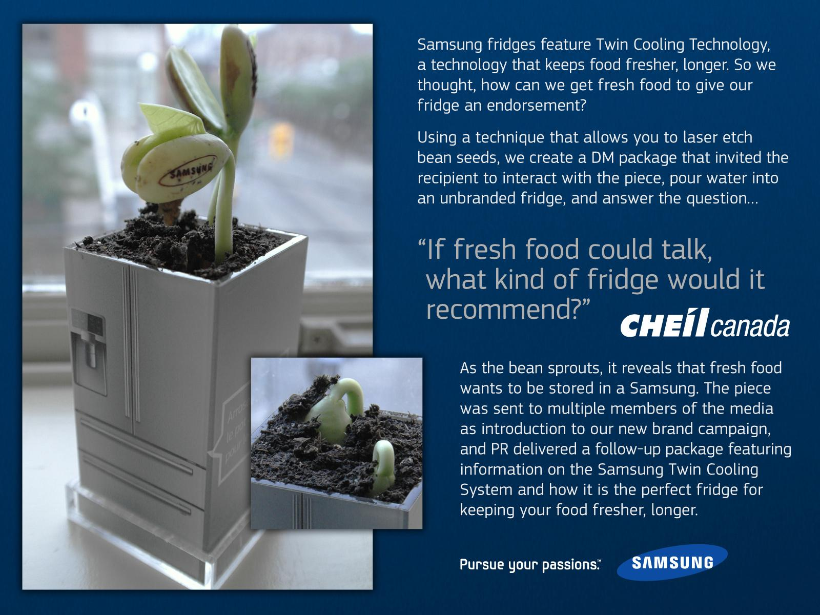 Samsung Direct Ad -  Seed Pot
