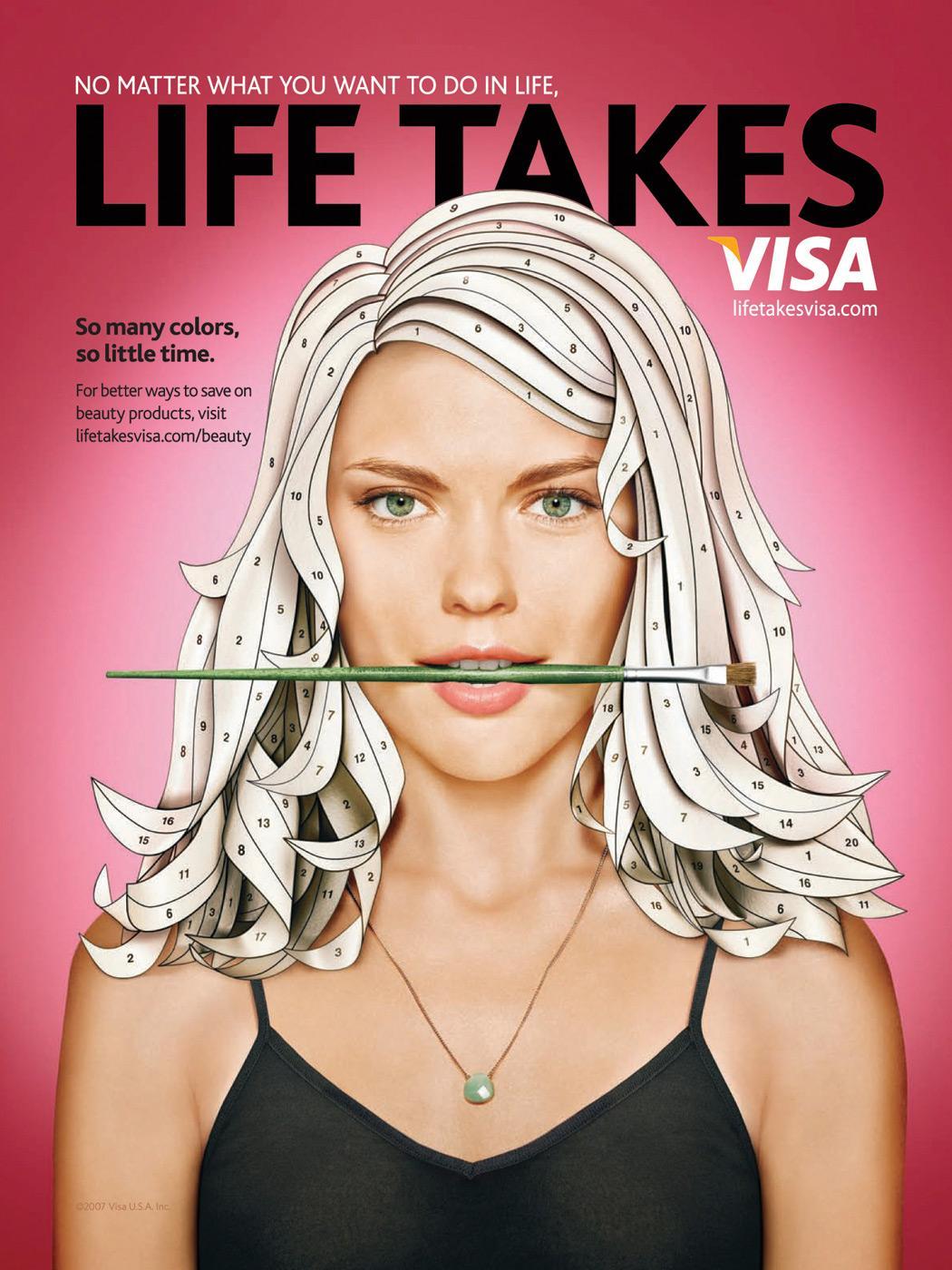 Life Takes Visa, Hair