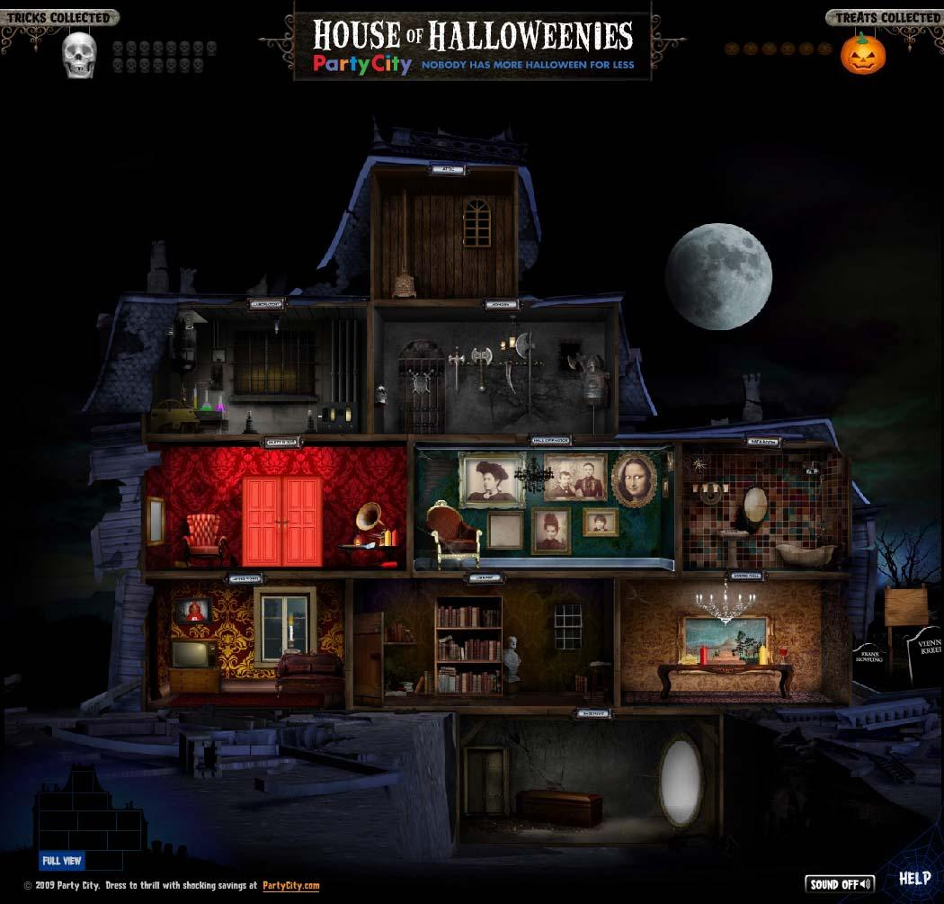Party City Digital Ad -  HouseOfHalloweenies.com