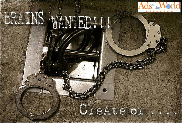 Ads of the World Print Ad -  Handcuffs