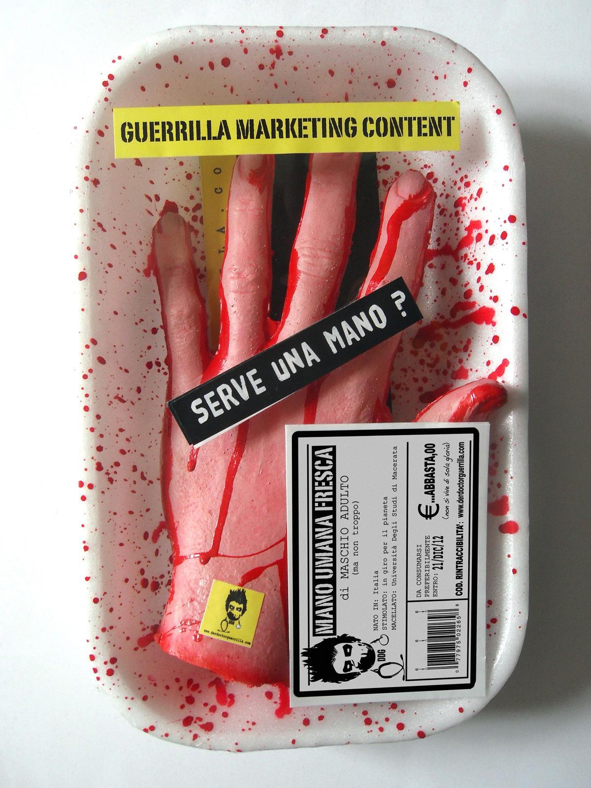 Der Doctor Guerrilla Direct Ad -  Hand