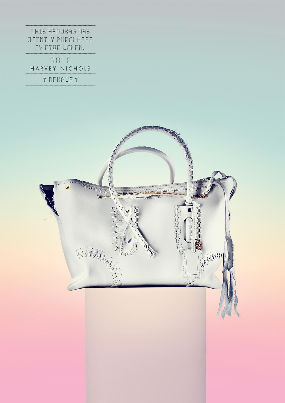 Harvey Nichols Print Ad -  Behave, Handbag