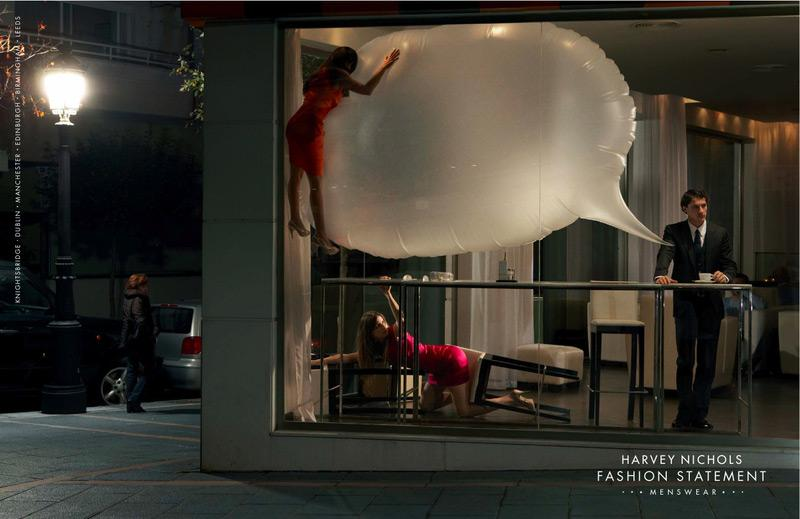 Harvey Nichols Outdoor Ad -  Fashion statement, 2