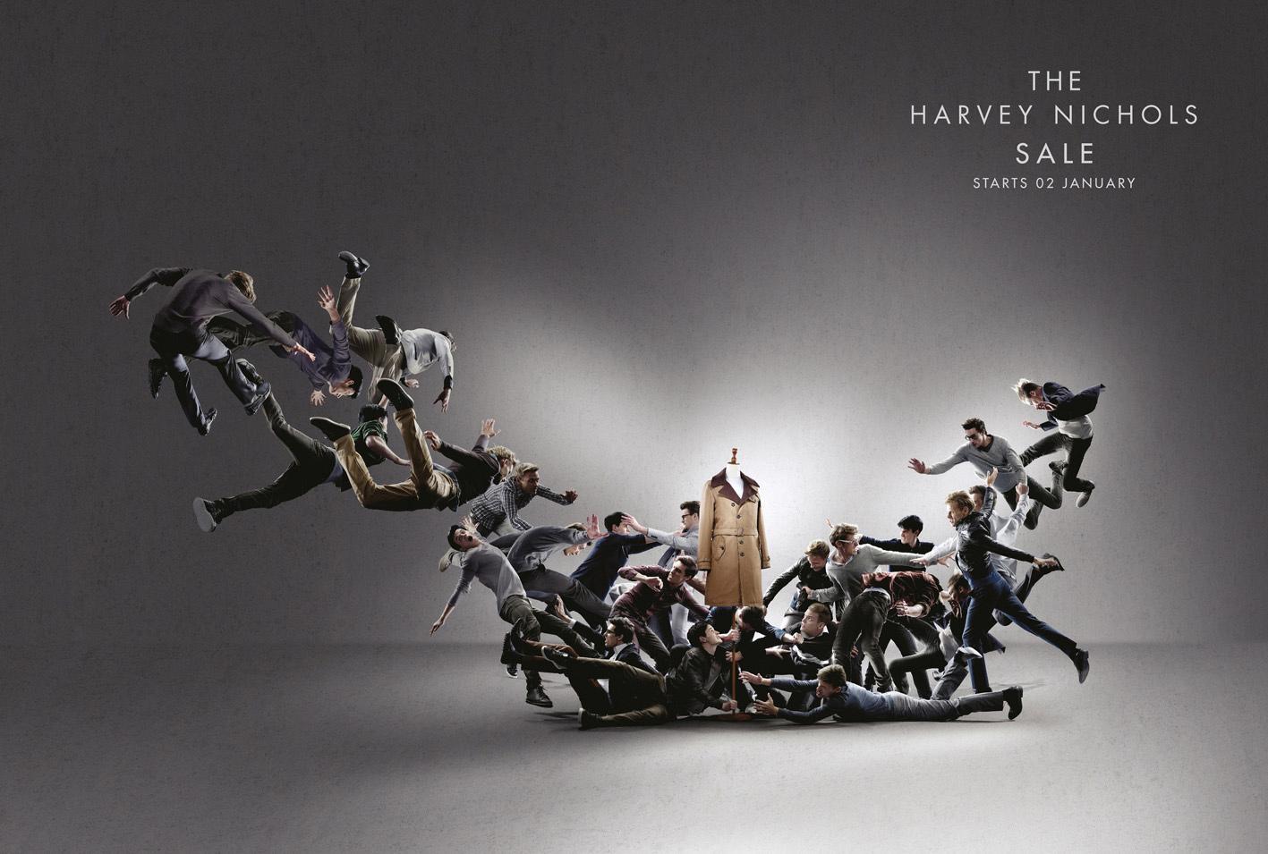 Harvey Nichols Print Ad -  Men